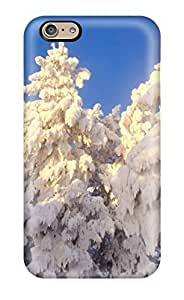 6 Scratch-proof Protection Case Cover For Iphone/ Hot Lots Of Snow On Trees Phone Case