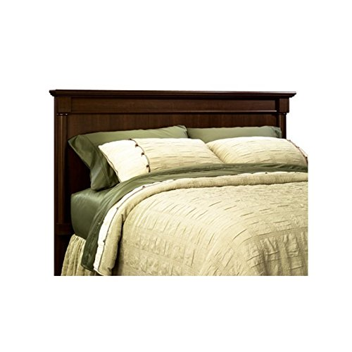 Pemberly Row Full Queen Panel Headboard Select in Cherry