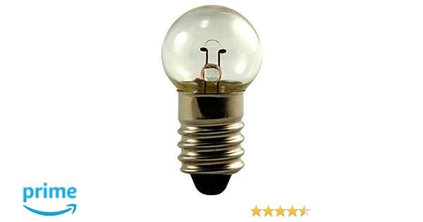 6.3 Volts OCSParts 47 Light Bulb 0.15 Amps Pack of 1