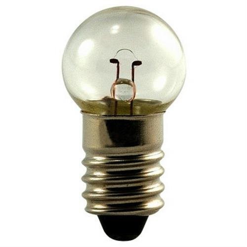 Eiko 425-10 425, 5V .5A G4-1/2 Miniature Screw Base Light Bulb (Pack of 10) ()