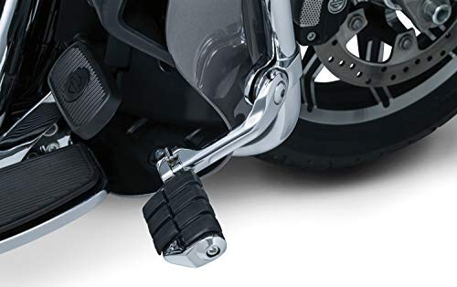 Kuryakyn 4529 Motorcycle Foot Controls: Tour-Tech Long Arm Cruise Mounts with Dually ISO Pegs for 1-1/4