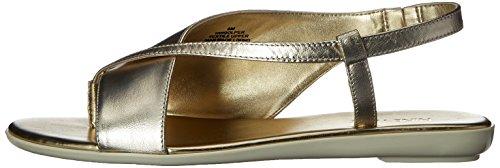 Light Gold Golper La West Vestido Sandalia Metã¡lico De Nine 0Fp8PP