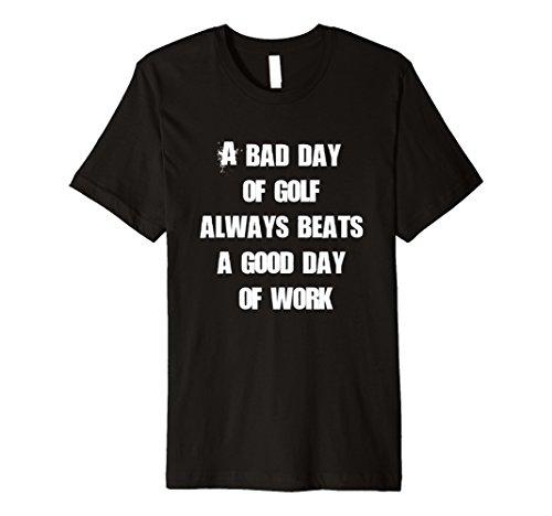 Mens Funny Golf T-shirt Gift Idea for Golf Lovers Medium Black (Golf Gift Idea)