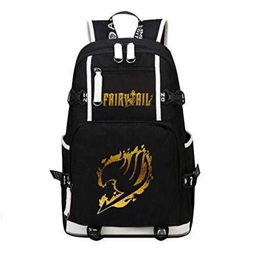 Fairy Tail Bag (YOYOSHome Luminous Anime Fairy Tail Cosplay Daypack Bookbag Laptop Bag Backpack School Bag)