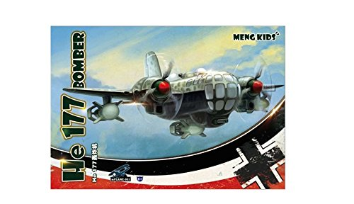 Meng He 177 Bomber 'Meng - Blade Red Canopy Complete