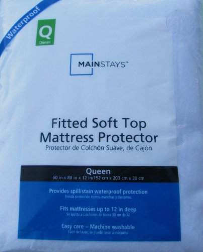 Mainstay Fitted Soft Top Mattress Protector