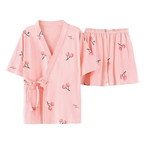 Set Da Color Pantaloncini Donna Home Photo Wear Sexy Accappatoio Mmllse Pigiama Corte Nuovo Maniche Moda Estivi A Xqn6dwa
