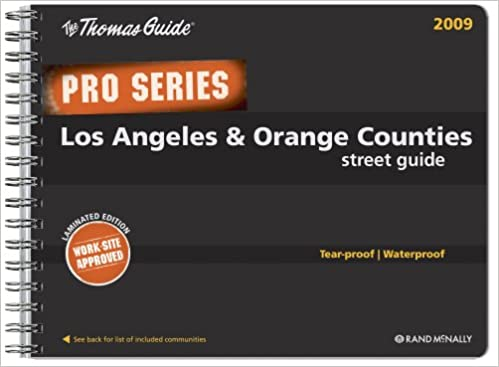 Popular books] the thomas guide pro series los angeles orange.