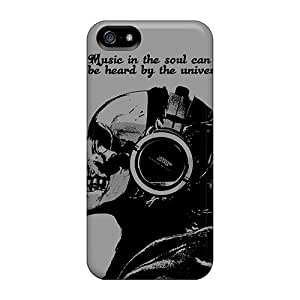 Hot OWLWZ26656QDwJC Case Cover Protector For Iphone 5/5s- Music In The Soul