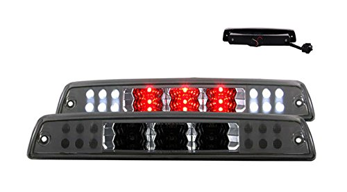 SPPC Smoke LED 3rd Brake Lights G2 For Dodge Ram- Cargo Tail Lamp ()