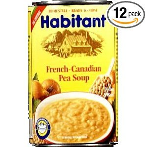 Habitant Yellow Pea Soup, 14-Ounce (Pack of 12) (Yellow Split Pea)