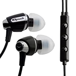 Klipsch IMAGE S4i Premium Enhanced Base Noise Isolating Earphones with 3 Button Apple Control (Discontinued by Manufacturer)