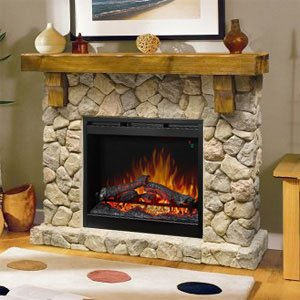 Electric Fireplace & Mantel Sets