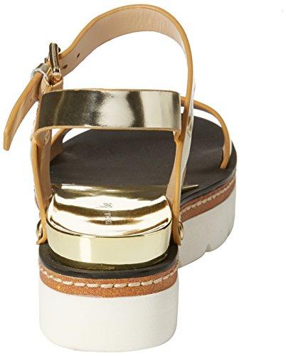 Tosca Blu Women's Merengue Ankle Strap Sandals Gold (Oro C98) TnMvNDw