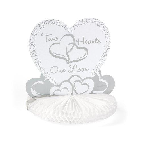 Two Hearts Wedding Centerpiece (Unique Wedding Centerpieces)