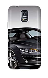 New Audi R8 Black Tpu Skin Case Compatible With Galaxy S5 by lolosakes