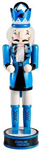 Carolina Panthers NFL Nutcracker