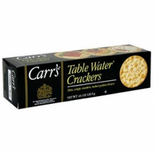 Carr's Table Water Crackers (12x4.25Oz ) by Generic