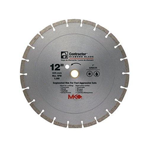 MK DIAMOND 167018 Segmented Rim Contractor Dry Wet Saw Blade, -