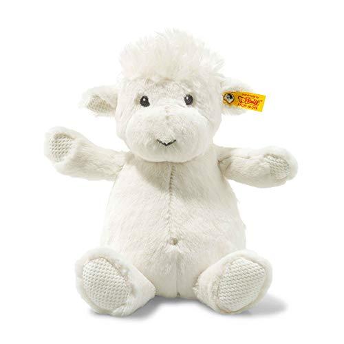 (Steiff Soft and Cuddly Cream Lamb - 12