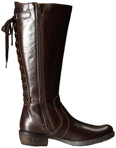 Bos. & Co. Chiave Delle Donne Boot Marrone Scuro