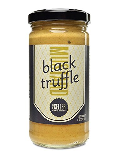 KL Keller Dijon With Black Truffles Mustard, 6 Pack