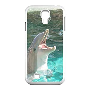 UNI-BEE PHONE CASE For SamSung Galaxy S4 Case -Dolphins Art Pattern-CASE-STYLE 2