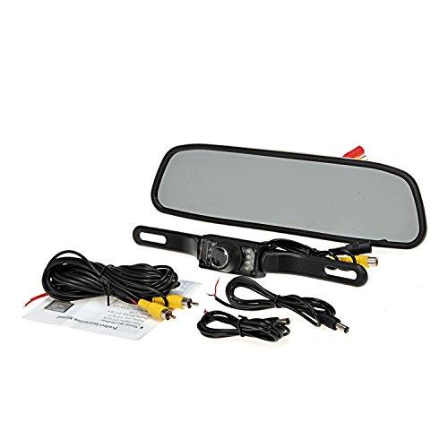 electronikz ouku 4 3 quot inch waterproof backup rear view monitor reversing parking