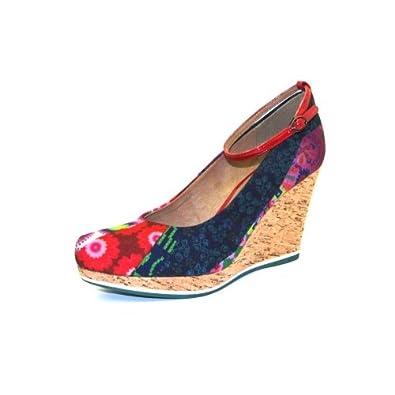 Tamaris Keilpumps 5254 Bunt (40): : Schuhe