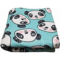 Guinea Pig Fleece Cage Liner | Multiple Sizes | Midwest Cage Liner | C&C Cage Liner | Guinea Pig Bedding | Guinea Pig Fleece | Hedgehog Fleece | Pandas | Reversible | Machine Washable