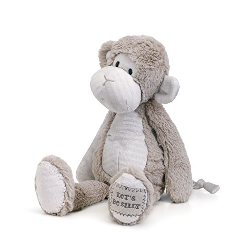 Let's Be Silly Monkey 16 inch - Stuffed Animal by Nat and Jules (5004700541) -