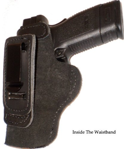 Smith and Wesson M&P Shield 9mm Left Hand Pro Carry Shirt Tuck Gun Holster
