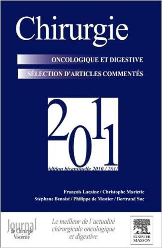 Livres gratuits en ligne Chirurgie oncologique et digestive 2011: POD pdf epub