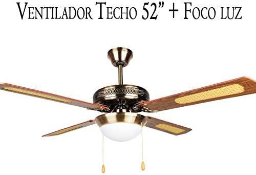 Suinga Ventilador DE Techo 52