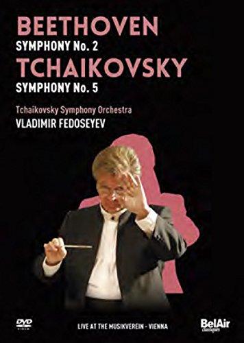 DVD : Tchaikovsky Symphony Orchestra of Moscow Radio - Beethoven & Tchaikovsky 2 (DVD)