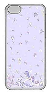 iPhone 5C Case Lolita Pretty PC Custom iPhone 5C Case Cover Transparent
