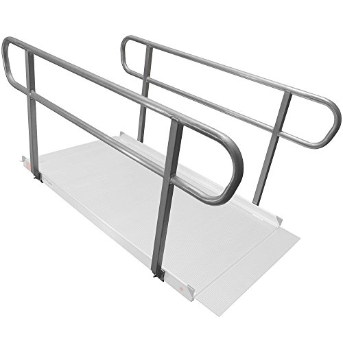 Titan 6' Wheelchair Entry Ramp Handrails Only