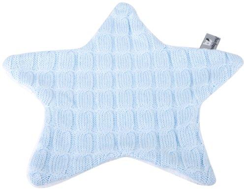 Baby's Only-Doudou Etoile maille Cable Uni bleu ciel - Bleu - Bleu Clair