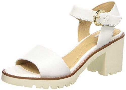 Geox D Dovelyn C - Sandalias de vestir Mujer Blanco - blanco