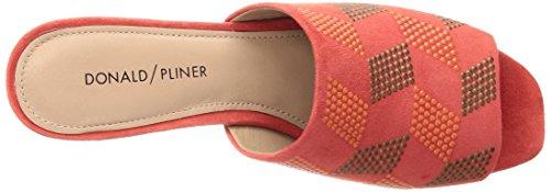 Donald J Pliner Womens Jula Sandal Papaver