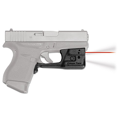Crimson Trace LL-803 Red Laserguard Pro Tactical Light and Laser Sight for Glock 42 & 43 Pistols, Red Laser (Best Laser For Glock 43)