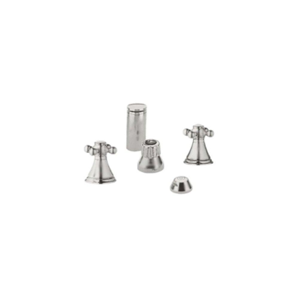 60%OFF Grohe K24019-18733-EN0 Geneva Bidet Fitting Kit, Brushed Nickel