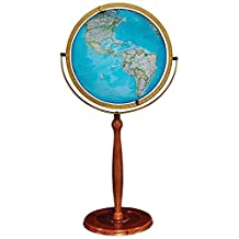 Replogle Globes Chamberlin Illuminated Globe, 16-Inch Diameter