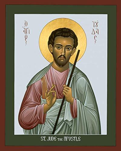 Trinity Stores Religious Art Giclee Print - 8x10 St. Jude The Apostle by Br. Robert Lentz, OFM