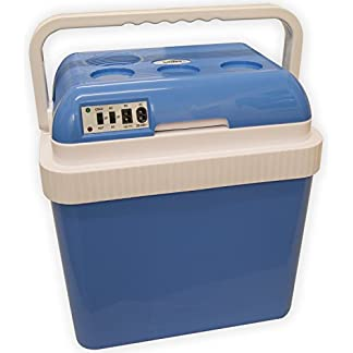 Andes Large 25L 12V/240V Cool Box Insulated Cooler & Heater DC/AC Adaptors CE/GS Certified 5