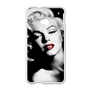 Marilyn Black and white Case Cover For HTC M7