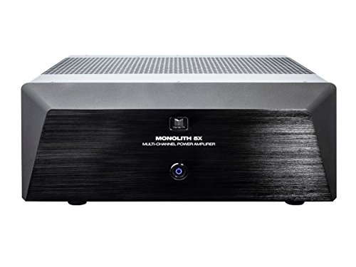Monolith Multi-Channel Power Amplifier - Black with 5x200 Wa