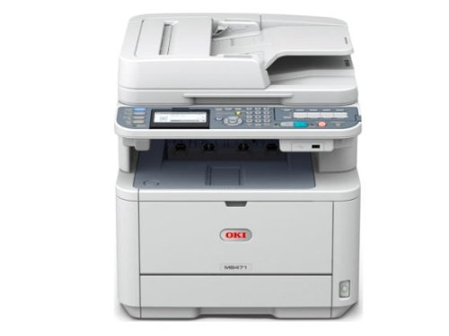 Oki Data MB MB471 Monochrome Printer with Scanner and (Okidata Laser Scanner)
