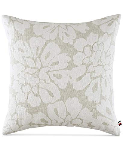 Tommy Hilfiger Broadmoor Floral Euro Shams (Set of 2), Cream ()