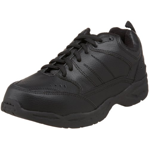 School Issue 3200 Lace Up Athletic Shoe (Toddler/Little Kid/Big Kid),Black,6.5 M US Big Kid by School Issue